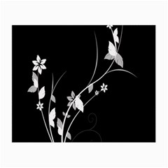 Plant Flora Flowers Composition Small Glasses Cloth