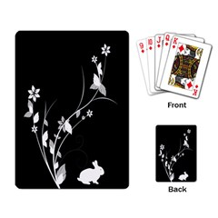 Plant Flora Flowers Composition Playing Card