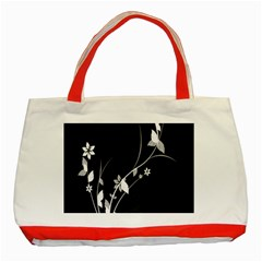 Plant Flora Flowers Composition Classic Tote Bag (red)