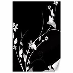Plant Flora Flowers Composition Canvas 12  x 18