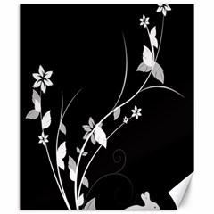 Plant Flora Flowers Composition Canvas 20  x 24
