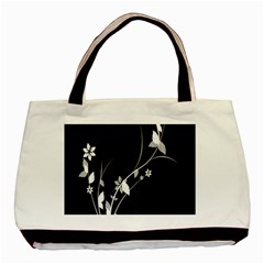 Plant Flora Flowers Composition Basic Tote Bag (two Sides)