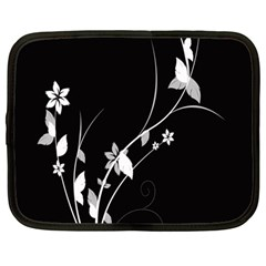 Plant Flora Flowers Composition Netbook Case (Large)