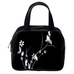 Plant Flora Flowers Composition Classic Handbags (One Side)