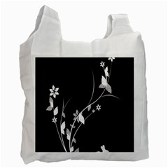 Plant Flora Flowers Composition Recycle Bag (Two Side)