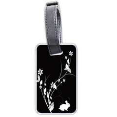 Plant Flora Flowers Composition Luggage Tags (Two Sides)