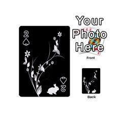 Plant Flora Flowers Composition Playing Cards 54 (Mini)
