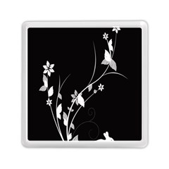 Plant Flora Flowers Composition Memory Card Reader (square)