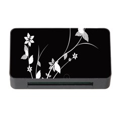 Plant Flora Flowers Composition Memory Card Reader with CF