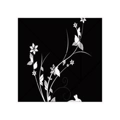 Plant Flora Flowers Composition Acrylic Tangram Puzzle (4  X 4 )