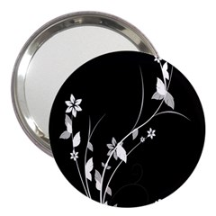 Plant Flora Flowers Composition 3  Handbag Mirrors