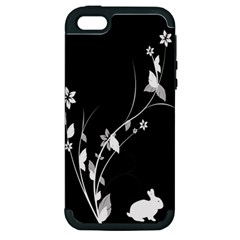 Plant Flora Flowers Composition Apple iPhone 5 Hardshell Case (PC+Silicone)