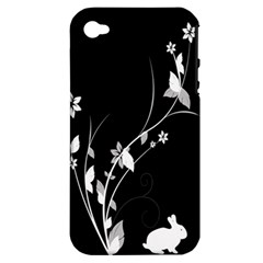 Plant Flora Flowers Composition Apple iPhone 4/4S Hardshell Case (PC+Silicone)