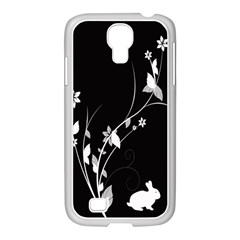 Plant Flora Flowers Composition Samsung Galaxy S4 I9500/ I9505 Case (white)
