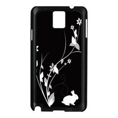 Plant Flora Flowers Composition Samsung Galaxy Note 3 N9005 Case (Black)