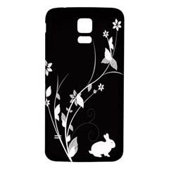 Plant Flora Flowers Composition Samsung Galaxy S5 Back Case (White)