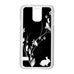 Plant Flora Flowers Composition Samsung Galaxy S5 Case (White)