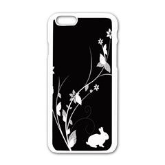 Plant Flora Flowers Composition Apple Iphone 6/6s White Enamel Case