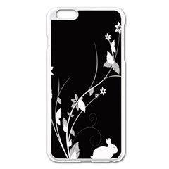 Plant Flora Flowers Composition Apple Iphone 6 Plus/6s Plus Enamel White Case