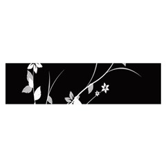 Plant Flora Flowers Composition Satin Scarf (Oblong)