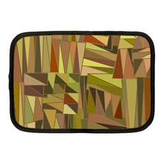 Earth Tones Geometric Shapes Unique Netbook Case (medium)