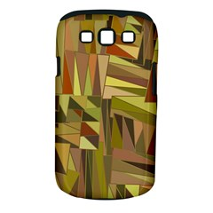 Earth Tones Geometric Shapes Unique Samsung Galaxy S III Classic Hardshell Case (PC+Silicone)