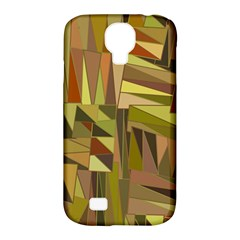 Earth Tones Geometric Shapes Unique Samsung Galaxy S4 Classic Hardshell Case (pc+silicone)