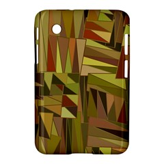 Earth Tones Geometric Shapes Unique Samsung Galaxy Tab 2 (7 ) P3100 Hardshell Case