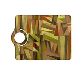 Earth Tones Geometric Shapes Unique Kindle Fire HD (2013) Flip 360 Case