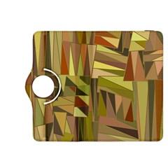 Earth Tones Geometric Shapes Unique Kindle Fire HDX 8.9  Flip 360 Case