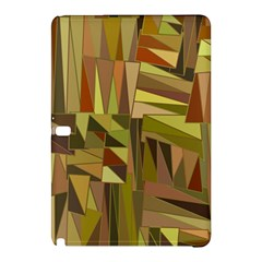 Earth Tones Geometric Shapes Unique Samsung Galaxy Tab Pro 10.1 Hardshell Case