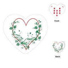 Heart Ranke Nature Romance Plant Playing Cards (heart)