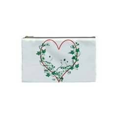 Heart Ranke Nature Romance Plant Cosmetic Bag (small)