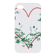 Heart Ranke Nature Romance Plant Apple iPhone 4/4S Hardshell Case