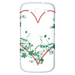 Heart Ranke Nature Romance Plant Samsung Galaxy S3 S III Classic Hardshell Back Case