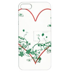 Heart Ranke Nature Romance Plant Apple iPhone 5 Hardshell Case with Stand