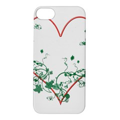 Heart Ranke Nature Romance Plant Apple iPhone 5S/ SE Hardshell Case