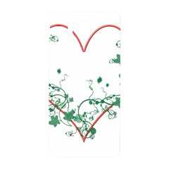 Heart Ranke Nature Romance Plant Samsung Galaxy Alpha Hardshell Back Case