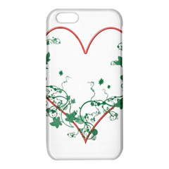 Heart Ranke Nature Romance Plant iPhone 6/6S TPU Case