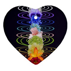 Chakra Spiritual Flower Energy Ornament (heart)