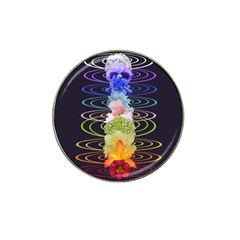 Chakra Spiritual Flower Energy Hat Clip Ball Marker (10 Pack)
