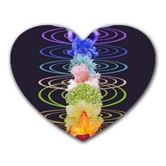 Chakra Spiritual Flower Energy Heart Mousepads