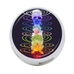 Chakra Spiritual Flower Energy 4-Port USB Hub (Two Sides)