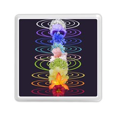 Chakra Spiritual Flower Energy Memory Card Reader (square)