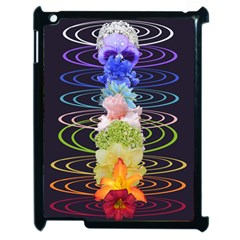 Chakra Spiritual Flower Energy Apple iPad 2 Case (Black)