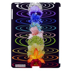 Chakra Spiritual Flower Energy Apple iPad 3/4 Hardshell Case (Compatible with Smart Cover)