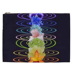 Chakra Spiritual Flower Energy Cosmetic Bag (XXL)
