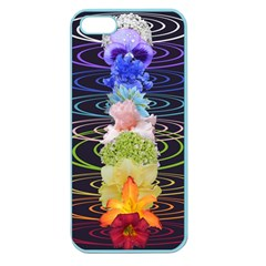 Chakra Spiritual Flower Energy Apple Seamless iPhone 5 Case (Color)