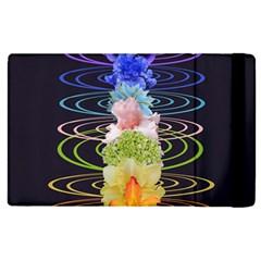 Chakra Spiritual Flower Energy Apple iPad 2 Flip Case