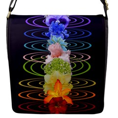 Chakra Spiritual Flower Energy Flap Messenger Bag (S)